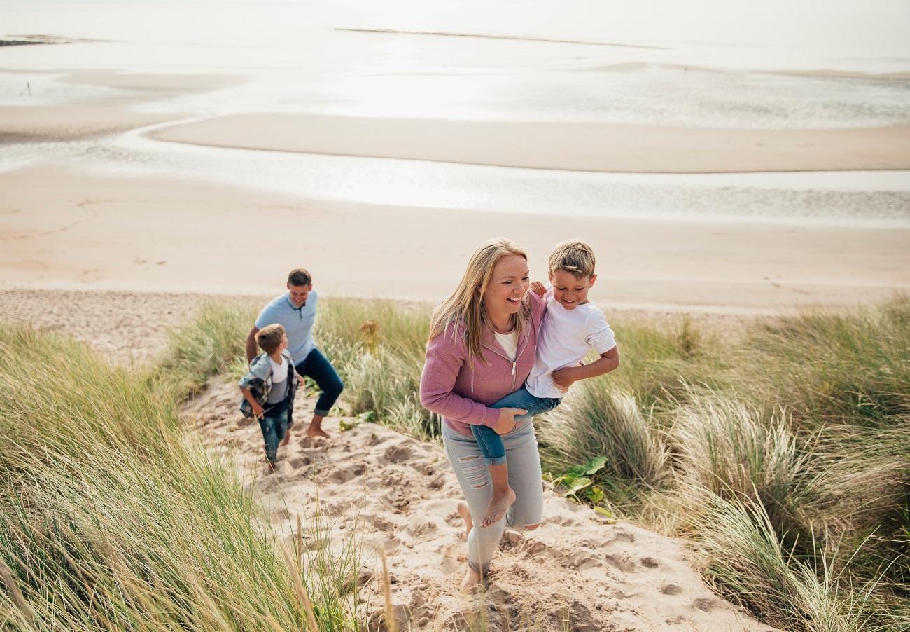 Gelukkig gezin - Gezinscoaching kan je hier bij helpen