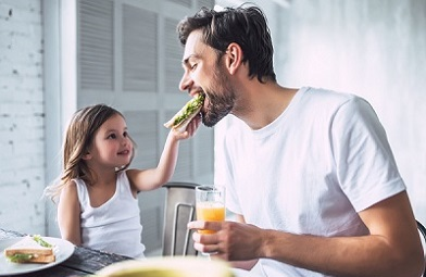 Genieten met je kind tijdens het ontbijt